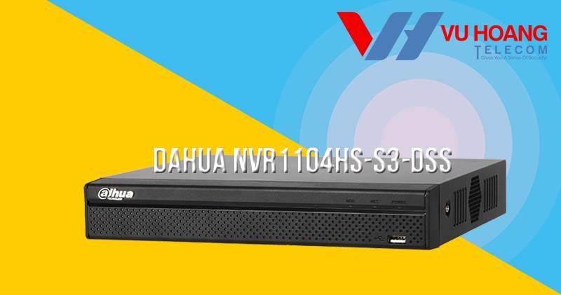 Đầu ghi IP 4 kênh Dahua NVR1104HS-S3-DSS