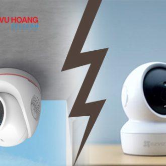 So sánh camera Ezviz C6N và C4W