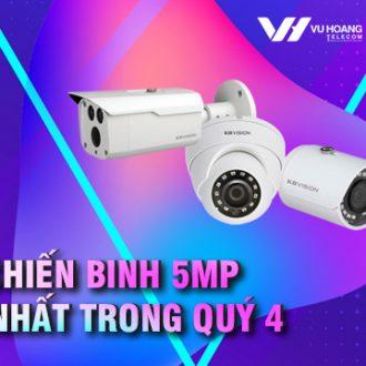 3 camera Kbvision mới trong báo giá quý 4