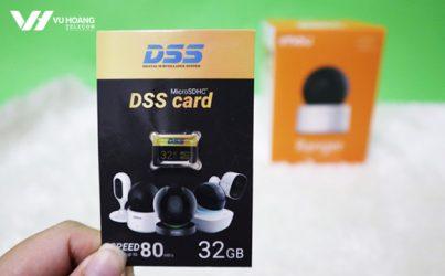 Tặng thẻ nhớ khi mua camera wifi