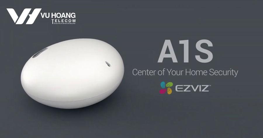 Bộ trung tâm báo động có kết nối internet/3G EZVIZ A1S