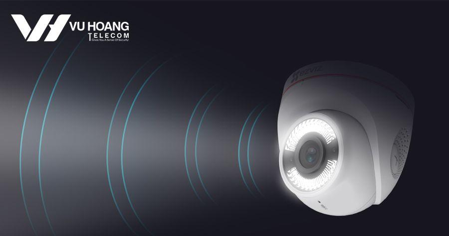 EZVIZ C4W Chủ động phòng vệ với đèn và âm thanh