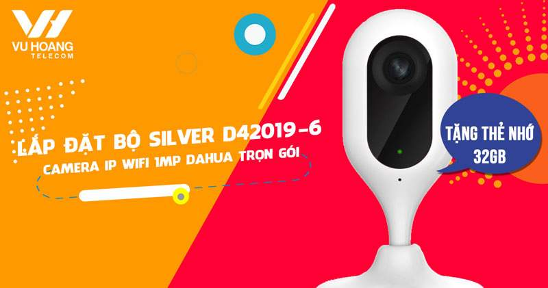 Lắp đặt camera giám sát 1MP DAHUA DHI-C12P giá rẻ (SILVER D42019-6)