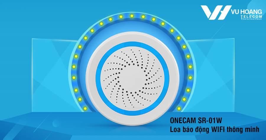 Loa báo động WIFI không dây ONECAM SR-01W