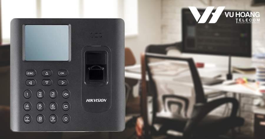 Máy chấm công vân tay giá rẻ Hikvision DS-K1A802F-1