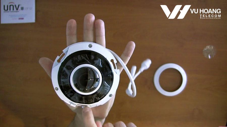Camera IP Fisheye 4MP UNV IPC814SR-DVSPF16