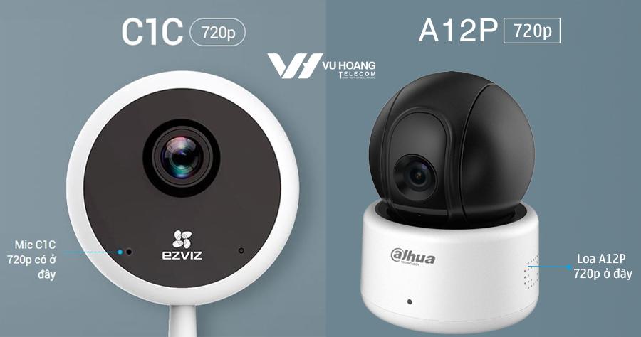 Camera wifi có tích hợp micro đàm thoại 2 chiều