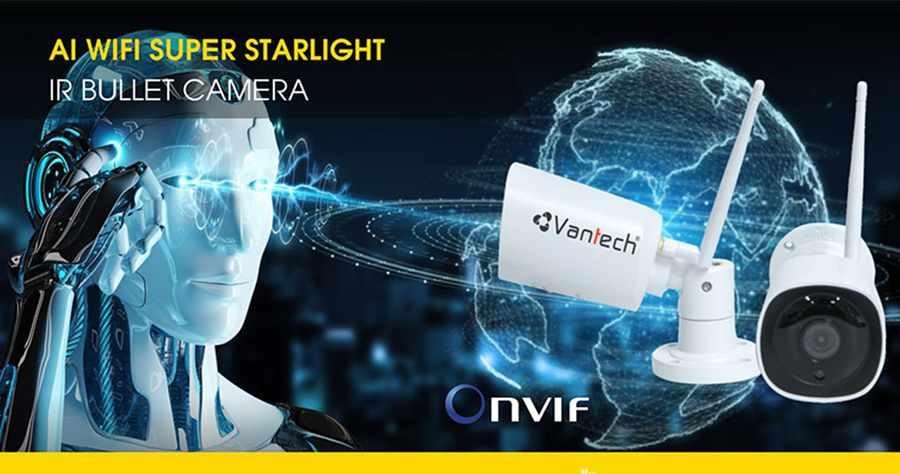 Camera IP AI Wifi 4MP VANTECH AI-V2031C