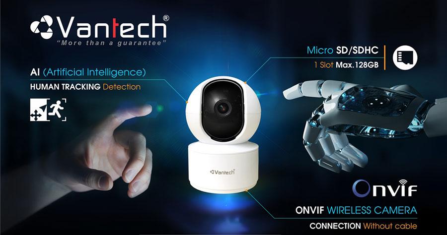 Camera AI Wifi 4MP VANTECH AI-V2010C giá rẻ