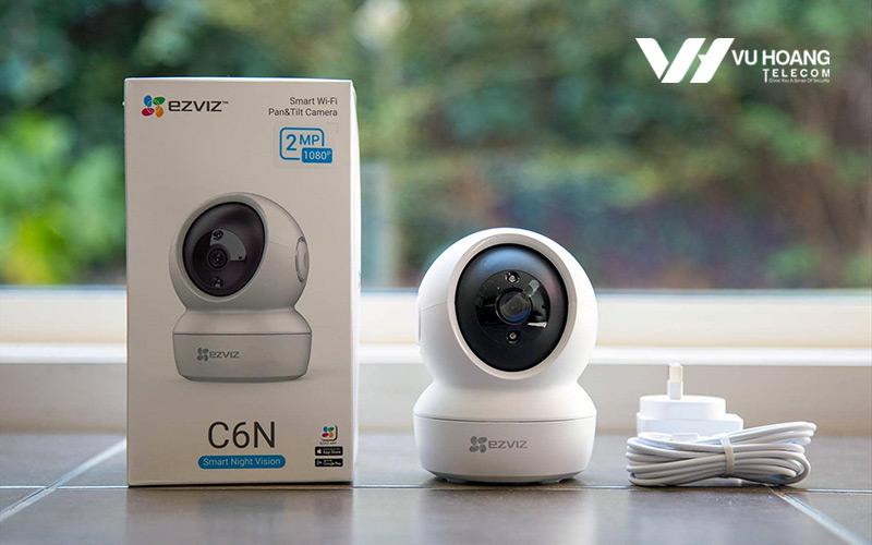 Bộ camera Wifi EZVIZ C6N 1080P thực tế