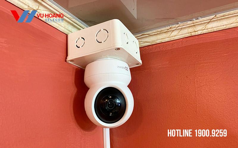 Lắp đặt camera Wifi EZVIZ C6N 1080P thực tế