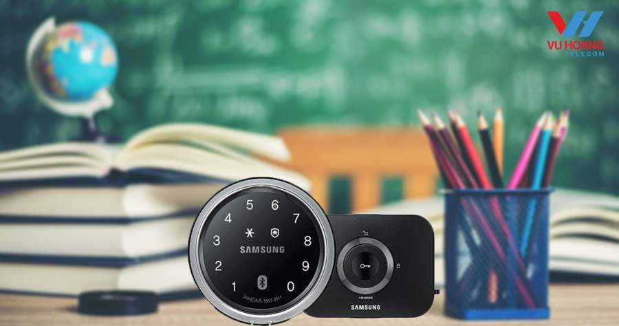 Khóa thông minh vân tay Samsung SHP-DS705MK/EN