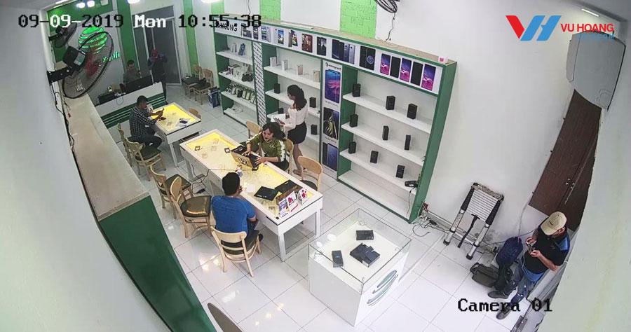 Camera quan sát khu vực bán hàng