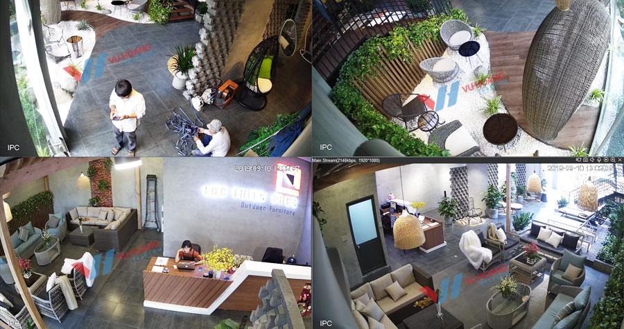 Camera IP quan sát cửa hàng, hình ảnh rõ nét chất lượng cao
