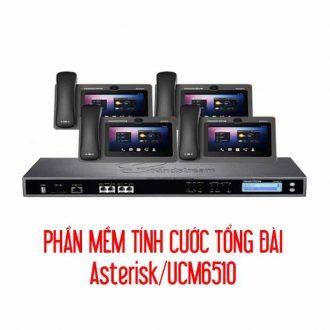 Phần mềm tính cước tổng đài Asterisk/UCM6510