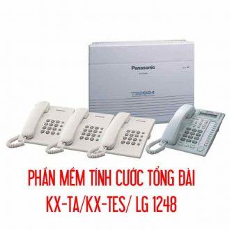Phần mềm tính cước tổng đài KX-TA/KX-TES/ LG 1248
