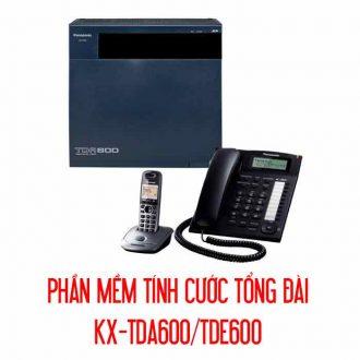 Phần mềm tính cước tổng đài KX-TDA600/TDE600