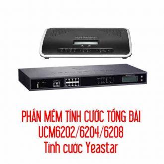 Phần mềm tính cước tổng đài UCM6202/6204/6208/Tính cước Yeastar