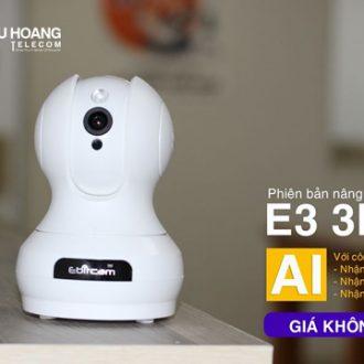 Ebitcam E3 tích hợp công nghệ AI