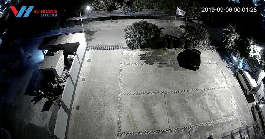 Hình ảnh camera G26EP lúc 12h khuya