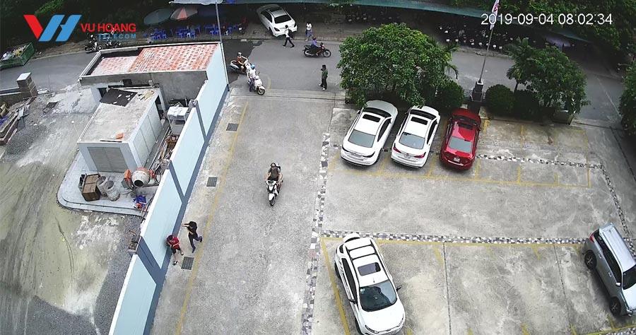 Hình ảnh camera G26P lúc 8h sáng