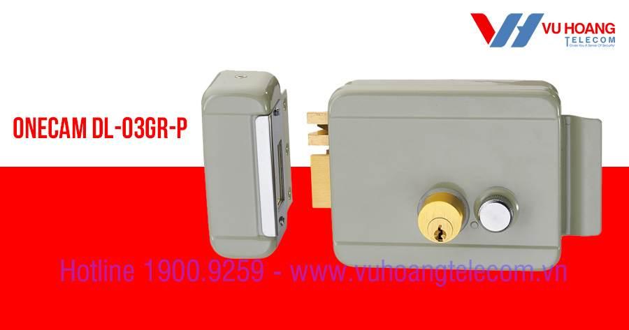 Khóa chốt cửa điện từ chuyên dụng  ONECAM DL-03GR-P mới
