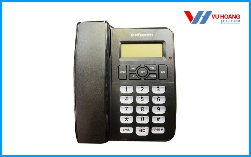 Điện thoại bàn NIPPON NP-1407 màu đen