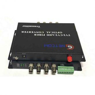GNETCOM HL-4V-20T/R 720P RS 485/PTZ