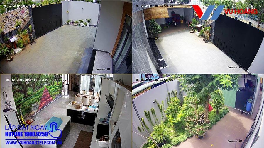 Giải pháp lắp đặt camera quan sát có dây HIKVISION