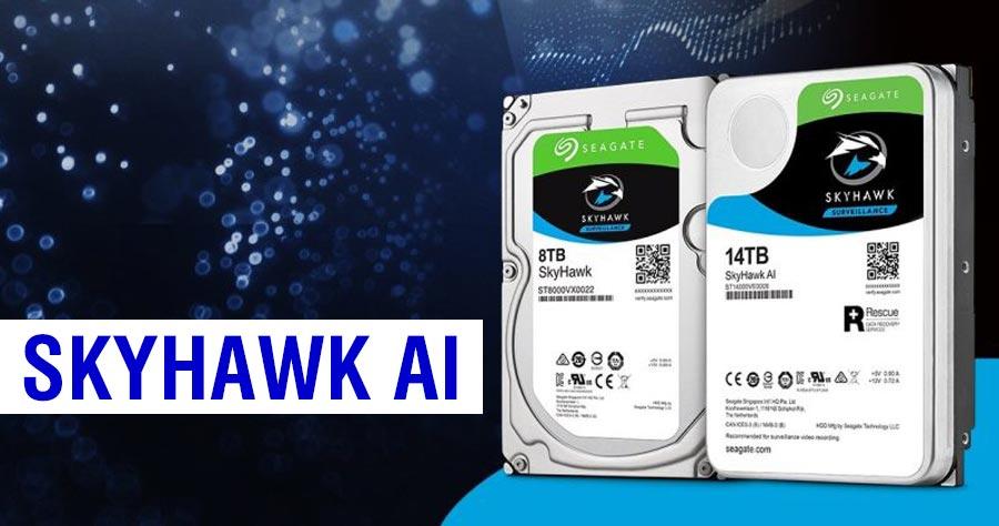 Ổ cứng giám sát Seagate SkyHawk AI chính hãng