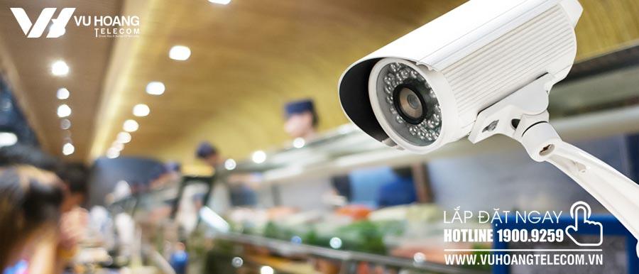 Hệ thống camera giám sát cho nhà hàng, khách sạn hiệu quả