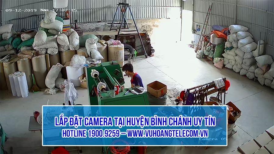 Lắp đặt camera cho nhà xưởng tại huyện Bình Chánh uy tín