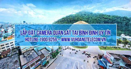 lap dat camera tai Binh Dinh