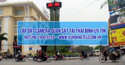 lap dat camera Thai Binh