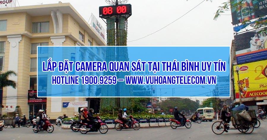 lap dat camera Thai Binh