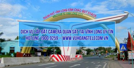 lap dat camera Vinh Long