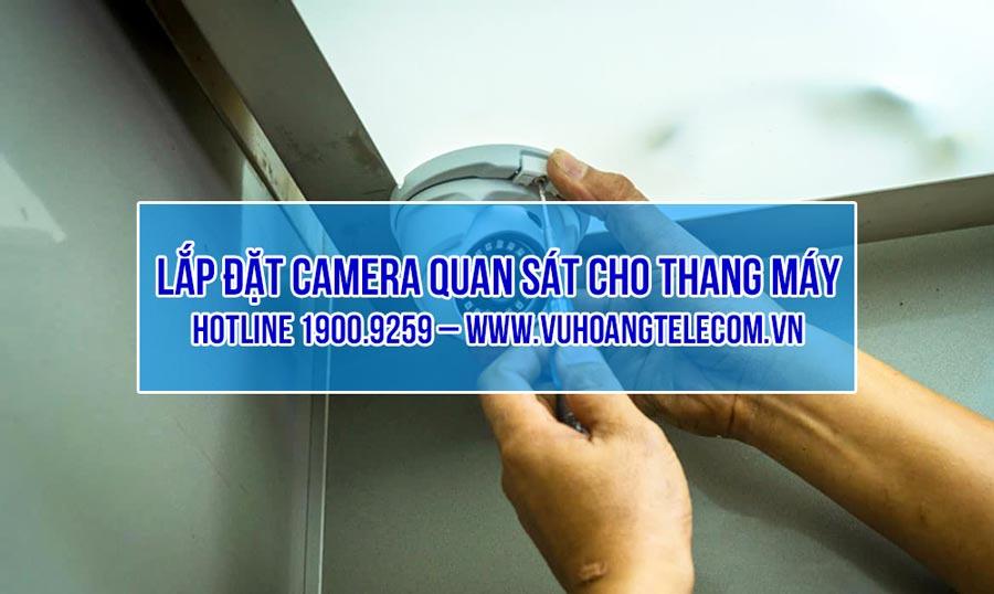 Giải pháp lắp đặt camera cho thang máy