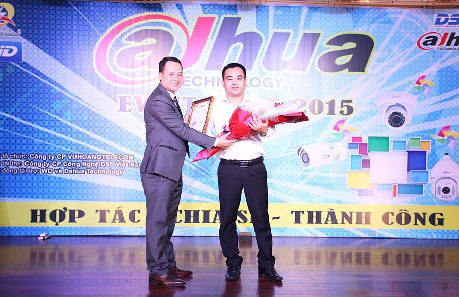 Vuhoangtelecom nhà phân phối camera DAHUA đầu tiên tại Việt Nam năm 2015