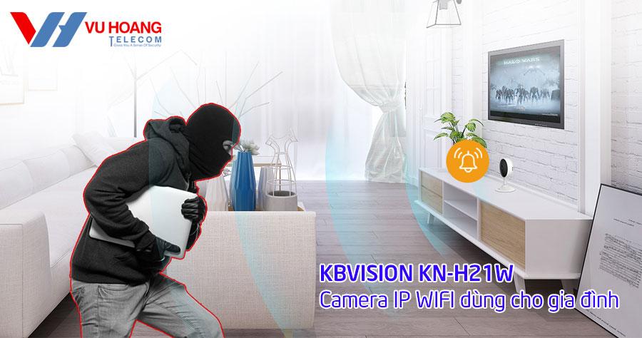 Camera KBONE KN-H21W có cảnh báo âm thanh