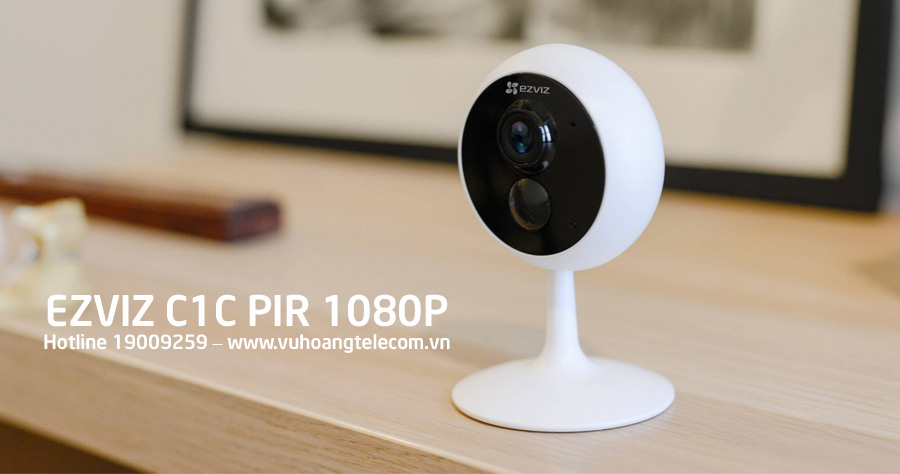 Camera IP Wifi đa năng 2MP EZVIZ C1C PIR 1080P