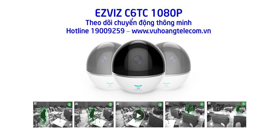 C6TC 1080P hỗ trợ theo dõi chuyển động thông minh