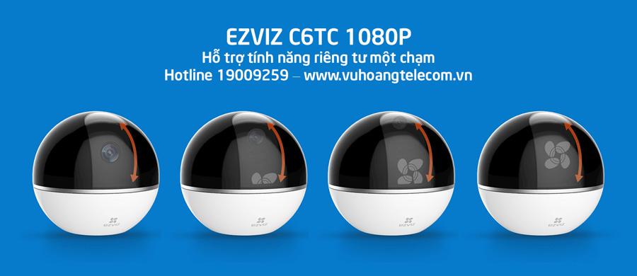 EZVIZ C6TC 1080P hỗ trợ tính năng riêng tư