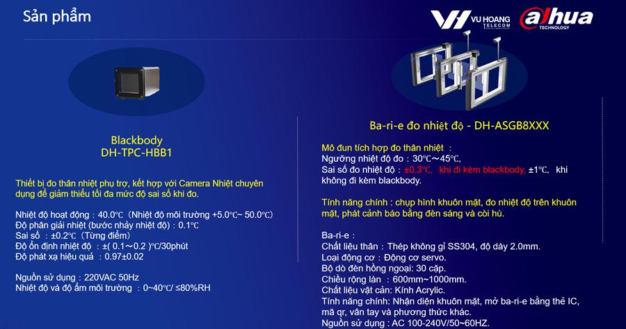 thiết bị ứng dụng camera nhiệt Dahua