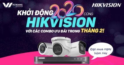 Combo Hikvision ưu đãi tháng 2 tại Vuhoangtelecom