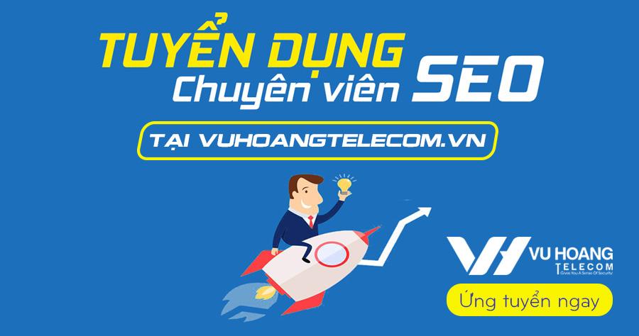 Tuyển dụng nhân viên SEO website