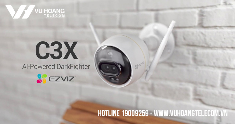 Camera IP Wifi 2MP Ezviz C3X