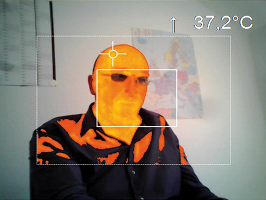 Camera đo tầm nhiệt