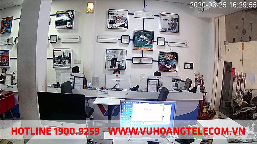 Hình ảnh test camera Wifi dùng pin VANTECH VP-B7300PIR thực tế tại Vuhoangtelecom