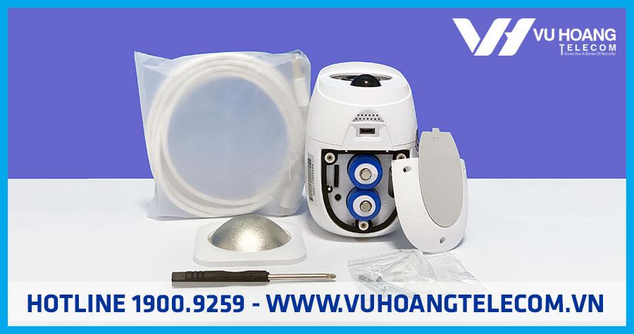 Trọn bộ camera dùng pin VANTECH VP-B7300PIR