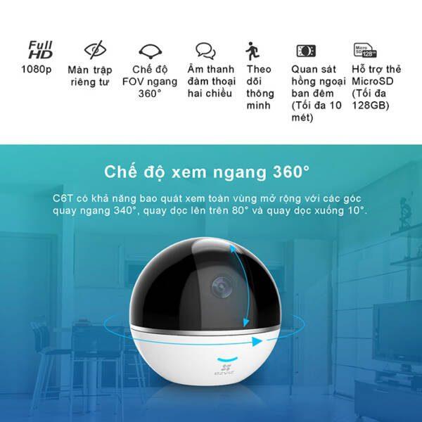 Camera Wifi EZVIZ C6T 1080P giá rẻ